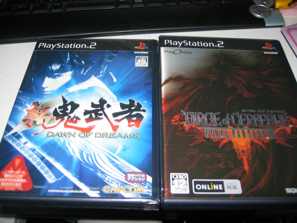 DIRGE OF CERBERUS FINAL FANTASY VII +新鬼武者